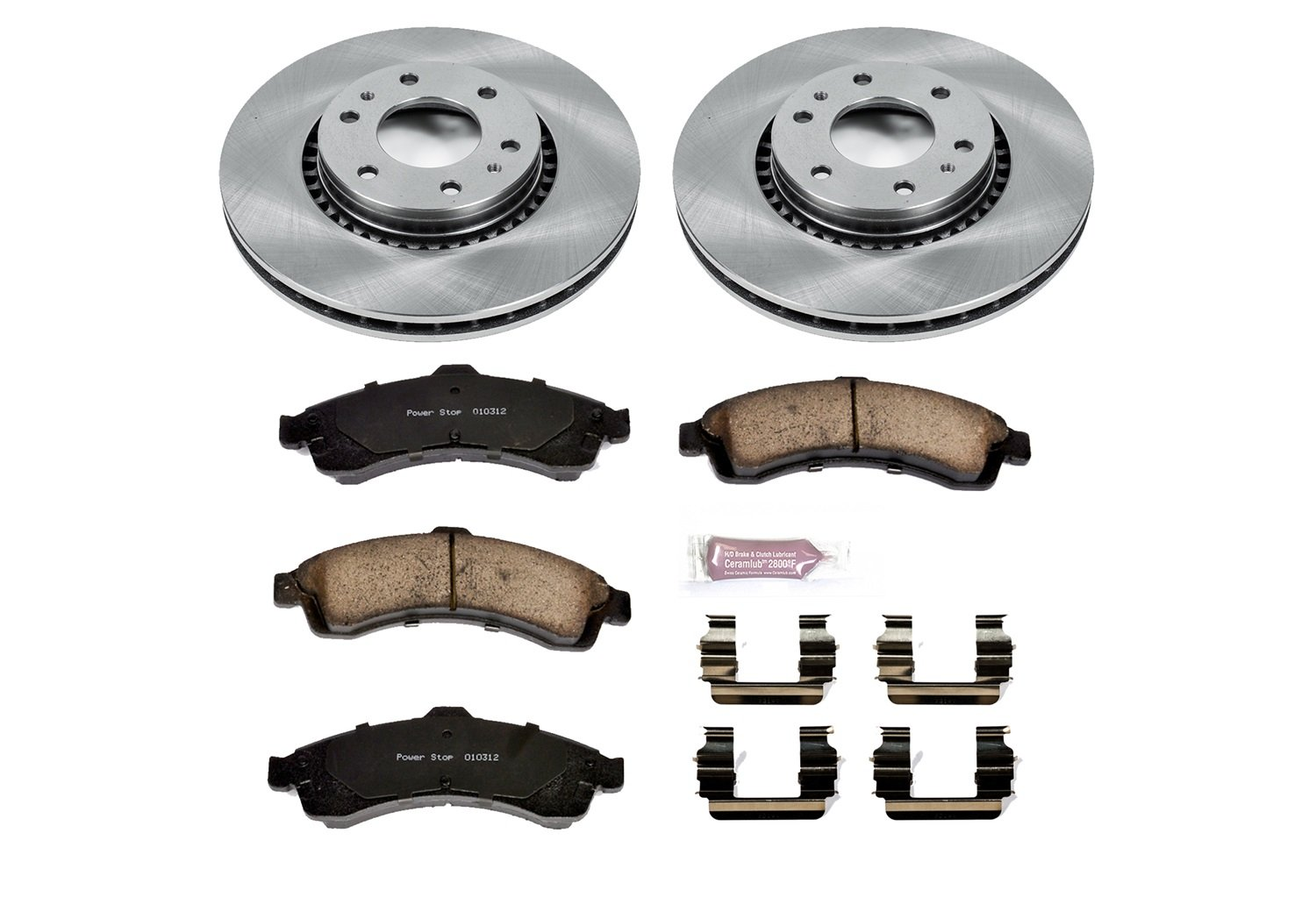 Autospecialty KOE2061 1-Click OE Replacement Brake Kit
