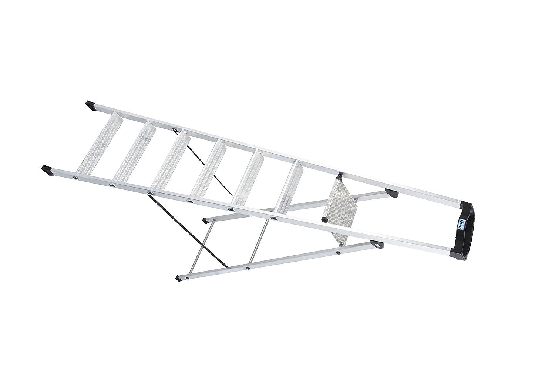 LBSB665 Escalera de Tijera con Bandeja, 7 Peldaños, 2.1 m Altura: Amazon.es: Industria, empresas y ciencia