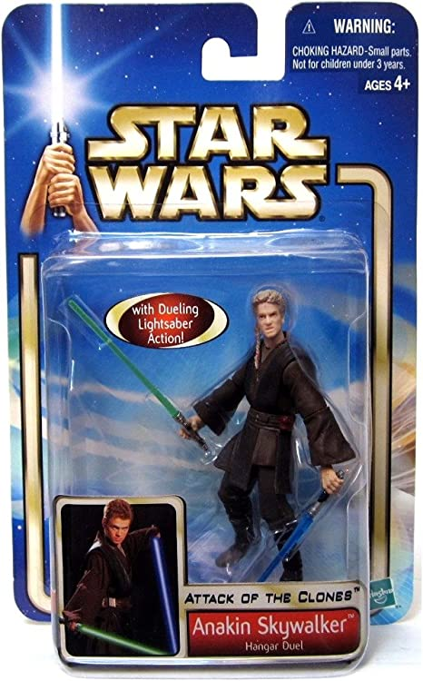 New Star Wars Episode 2 Attack of the Clones Action Figures 2002 Collection 2