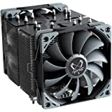 Scythe Ninja 5 Air CPU Cooler, 120mm Single Tower, Intel LGA1151, AMD AM4, Dual Quiet Fans, Black Top Cover