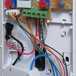Busirde 1 a 1 H6 Timbre inal/ámbrico con Receptor Cubierta de intercomunicaci/ón de Voz Inteligente a bater/ía del transmisor al Aire Libre 300m Distancia