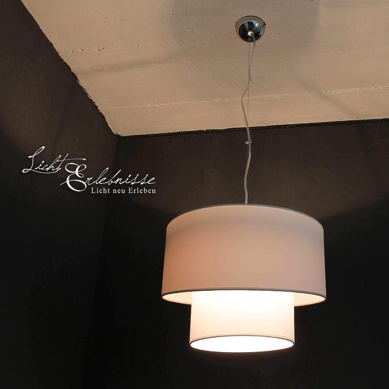 Stilvolle Hängeleuchte Hängeleuchte Hängeleuchte in Silber 1x E27 bis zu 60 Watt 230V aus gewebten Stoff & Metall Küche Esszimmer Pendelleuchte Hängelampe Pendellampe Beleuchtung innen e9a7e2