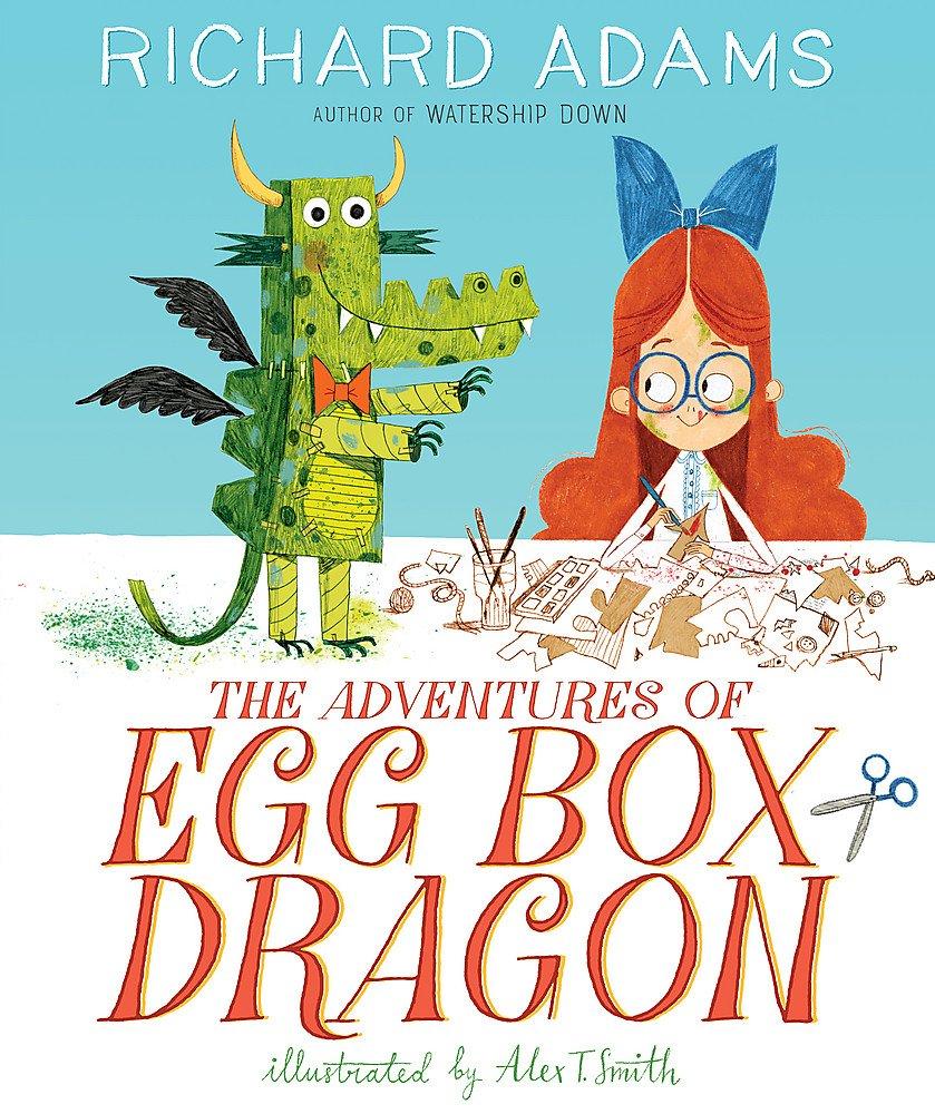 The Adventures of Egg Box Dragon: Amazon.co.uk: Adams, Richard, Smith, Alex  T.: Books