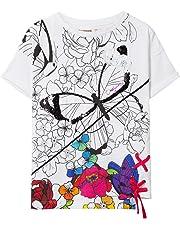 Desigual Girl Knit T-Shirt Short Sleeve (TS_Bismarck), Bambina