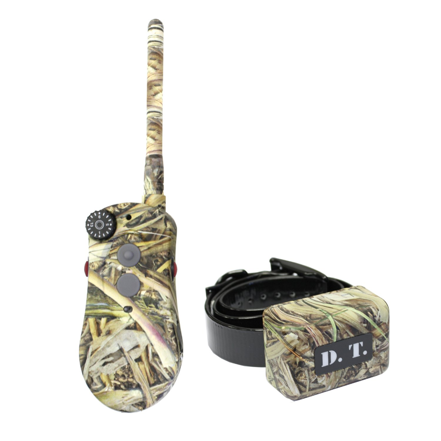 D.T. Systems H2O Series 1820 Plus Dog Training System Fatal Flight Camo Coverup Expandable to 3 Dogs with Positive Vibration
