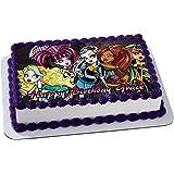 MONSTER HIGH Quarter Sheet Edible Photo Birthday Cake Topper. ~ Personalized! 1/4 Sheet