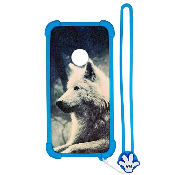 Case for ZTE N818S QLink Wireless Case Silicone border + PC hard backplane  Stand Cover Lang