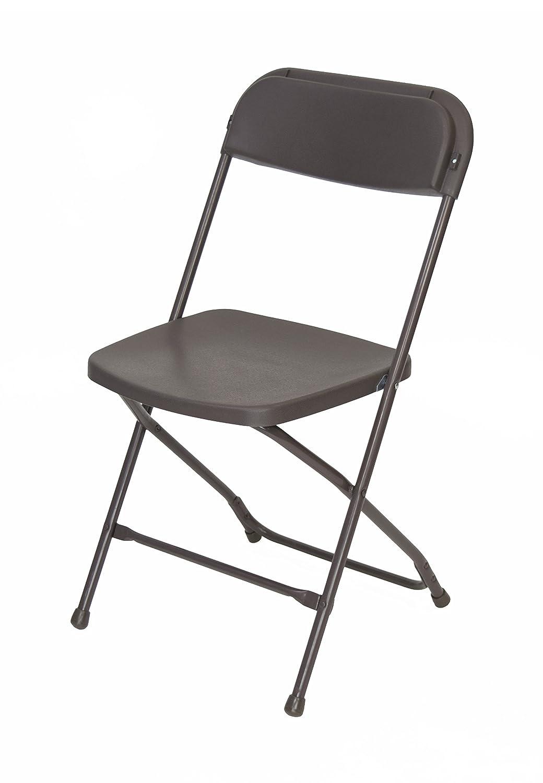 10 piezas marrón plástico plegable silla paquete - perfecto ...