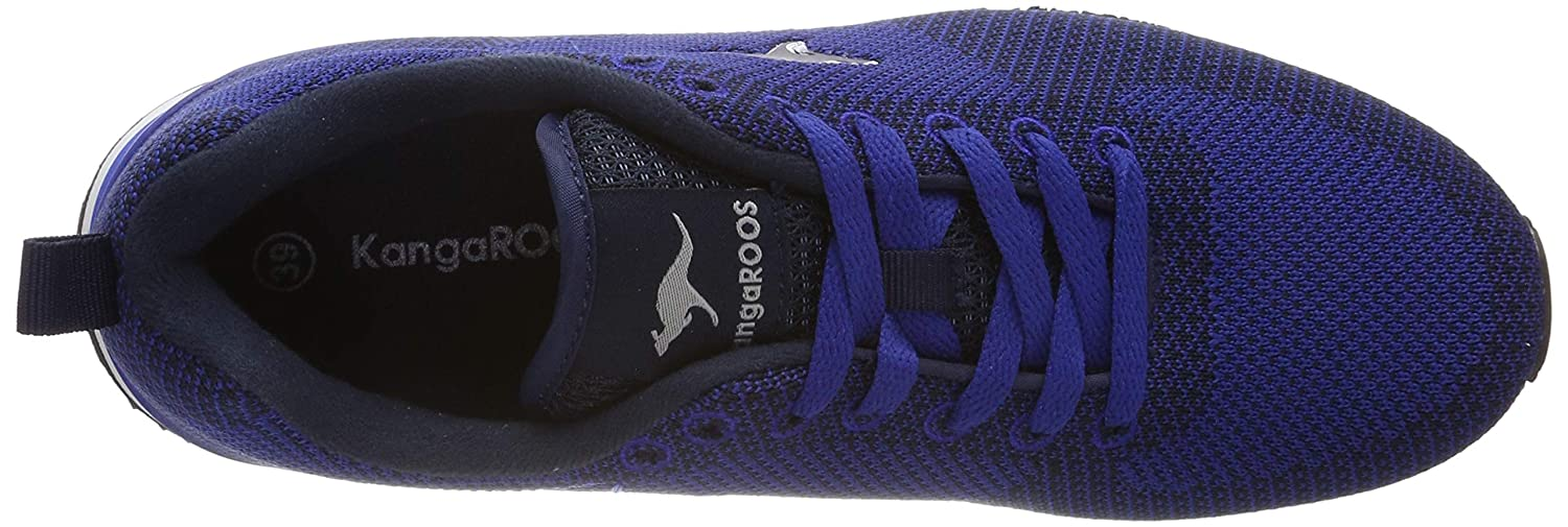 KangaROOS Unisexs Retro Racer Woven Trainers