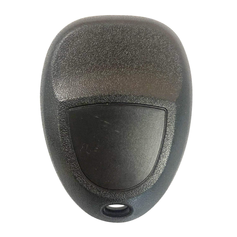 SINGLE New Keyless Entry 5 Button Remote Car Key Fob Fits Malibu Cobalt LaCrosse G5 G6 22733524 KOBGT04A ;by AUTO KEY MAX