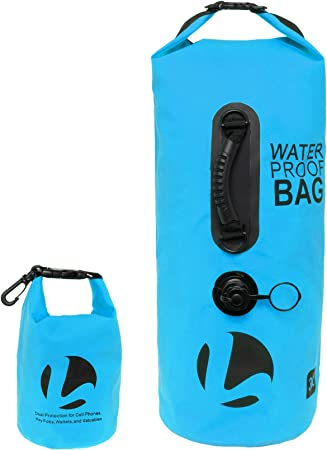 2L-30L Outdoor Waterproof Backpack Dry Bag Pouch Canoe Swimming Camping Floatin