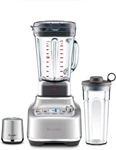 Breville The Super Q BBL925BSS Super Q Blender, Brushed Stainless Steel, BBL925BSS2BAN1