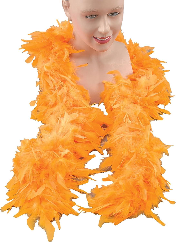 Feather Boas (Various Colours) Smiffys Boa Deluxe fucsia pluma 180cm