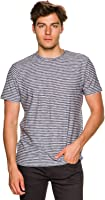 New O'neill Men's Kirby Crew Ss Tee Crew Neck Short Sleeve Cotton Blue