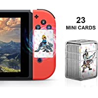 NFC Cards for the Legend of Zelda Breath of the Wild - Switch / Wii U - 23 Pieces Mini Cards in Crystal Case