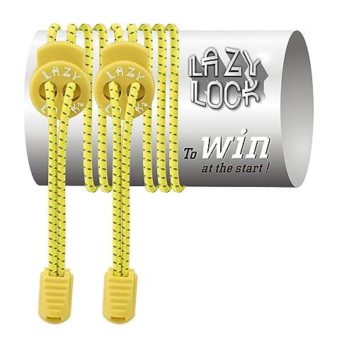 Lazy Lock De alta calidad cordones elásticos deportivas sin atar - poliéster en diferentes colores -