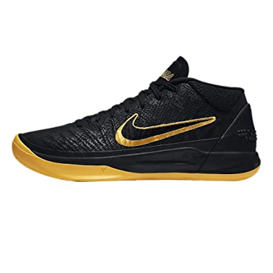 timeless design 31631 2af26 Nike Men's Kobe AD BM, Black/University Gold: Amazon.co.uk: Shoes & Bags