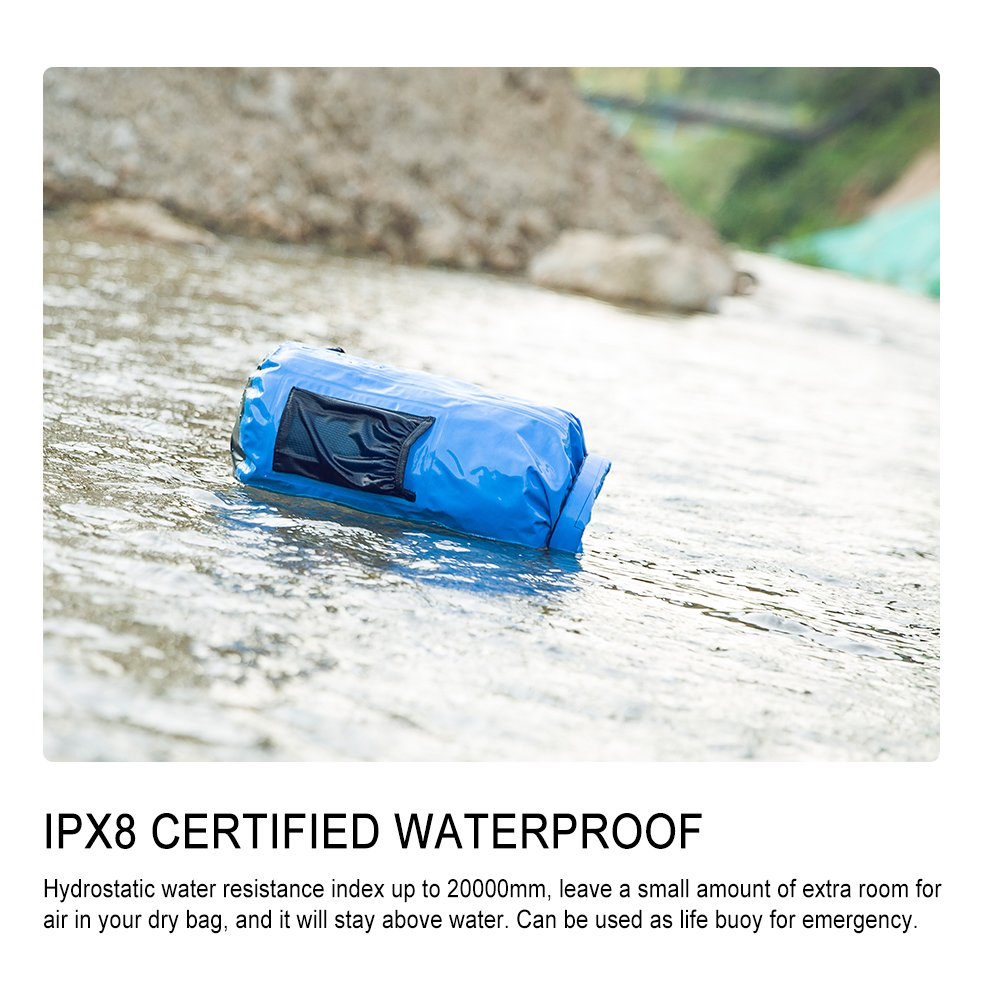 BFULL Waterproof Dry Bag 10L  20L   Lightweight Compact   Roll Top Water  Proof Backpack ... 8d861401446f7