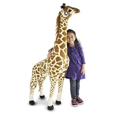 Melissa & Doug Giraffe - Plush: Toys & Games