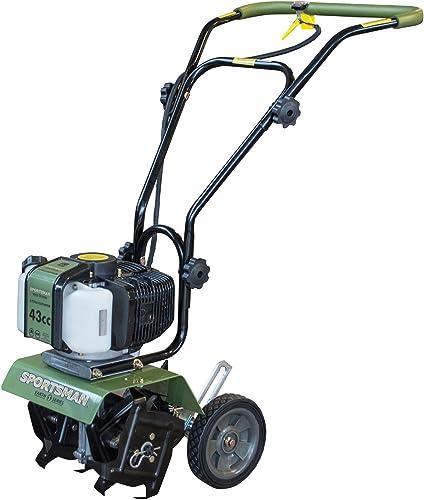 Sportsman Earth Series 43cc Mini Cultivator – 2 Cycle, Green