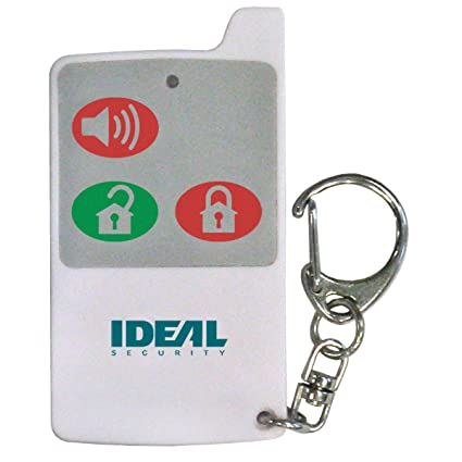 Ideal Security Inc. SK629 SK6-Series Remote Controls Arm, Disarm, and Panic Buttons, Work with all SK6 Alarms, 2-Pack