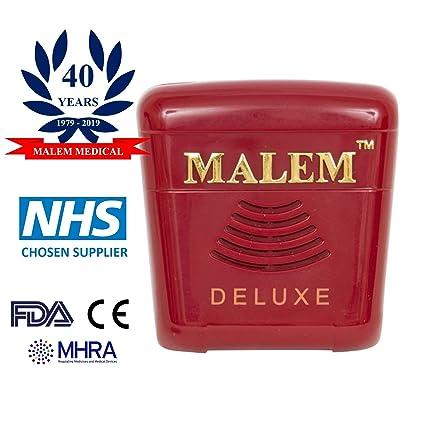 Alarma de enuresis Malem MO24 Deluxe: Amazon.es: Salud y ...