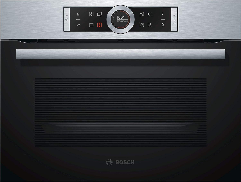Bosch Serie 8 CBG633NS3 - Horno (Medio, Horno eléctrico, 47 L, 47 ...