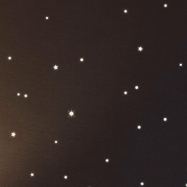 Wandtattoo Loft® Sternenhimmel 350 fluoreszierende Leuchtpunkte ...