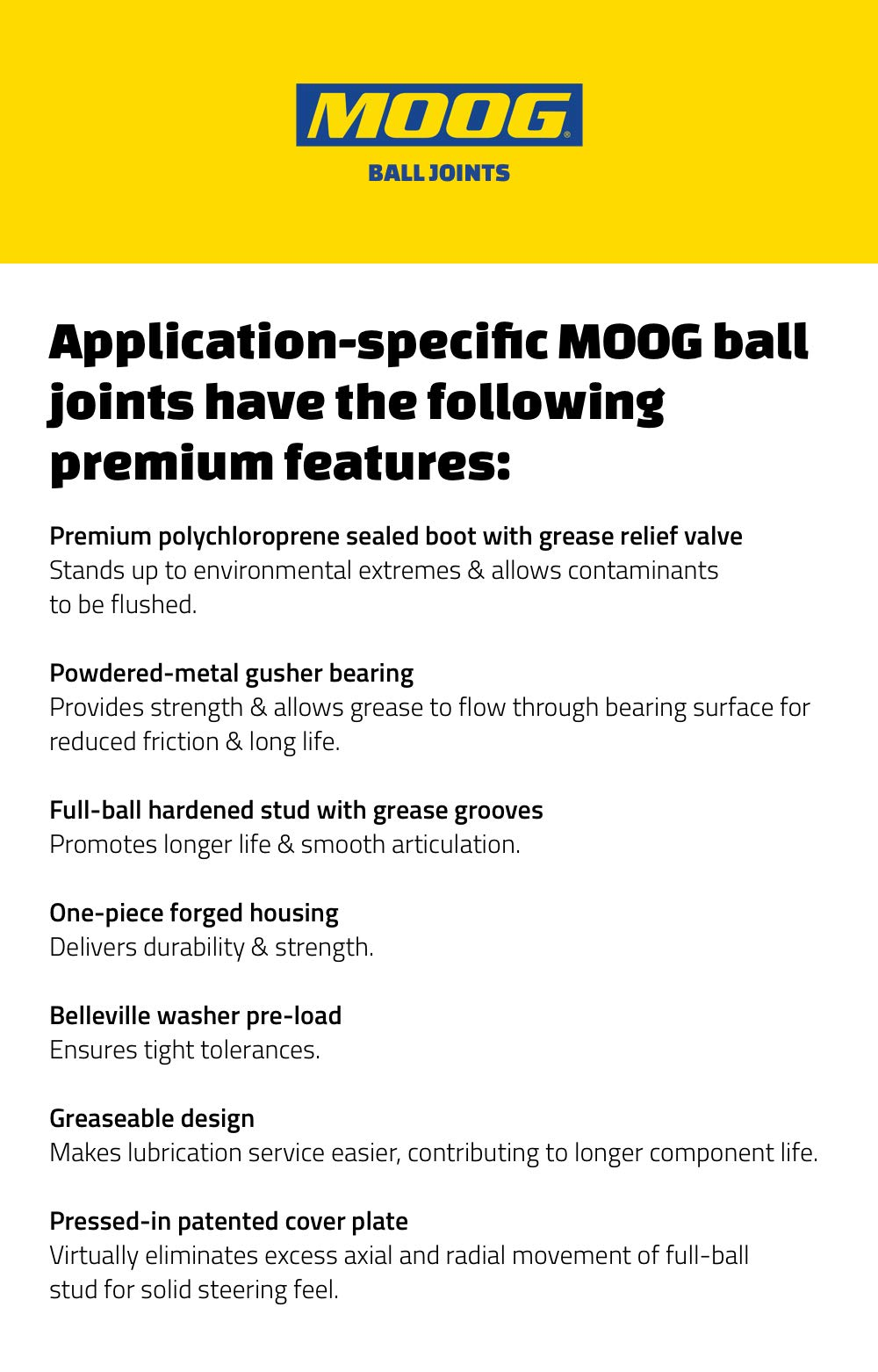 Moog K7467 Ball Joint by Moog (Image #3)