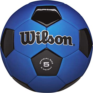 Wilson Traditional Size 5 Soccer Ball Official Game Match Outdoor Sport Team