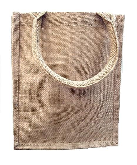 Amazon.com: Bolsas de yute de arpillera reutilizables para ...