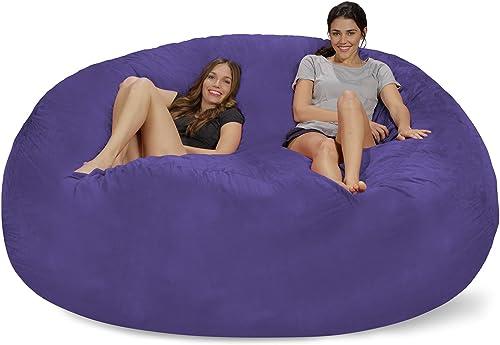 Editors' Choice: Chill Sack Bean Bag Chair: Giant 8' Memory Foam Furniture Bean Bag