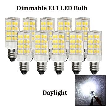 4 W E11 Bombilla LED 120 V