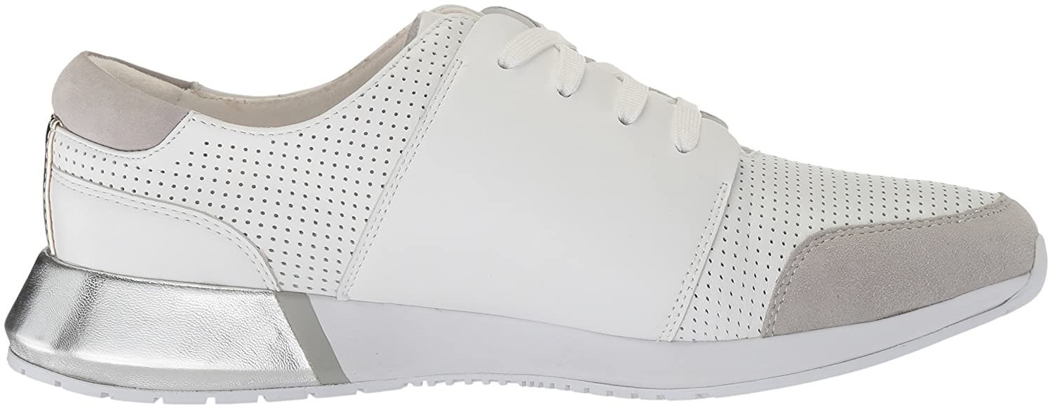 Kenneth Cole New York Women's Sumner Lace-up Jogger Sneaker B0795631H8 8.5 M US|White