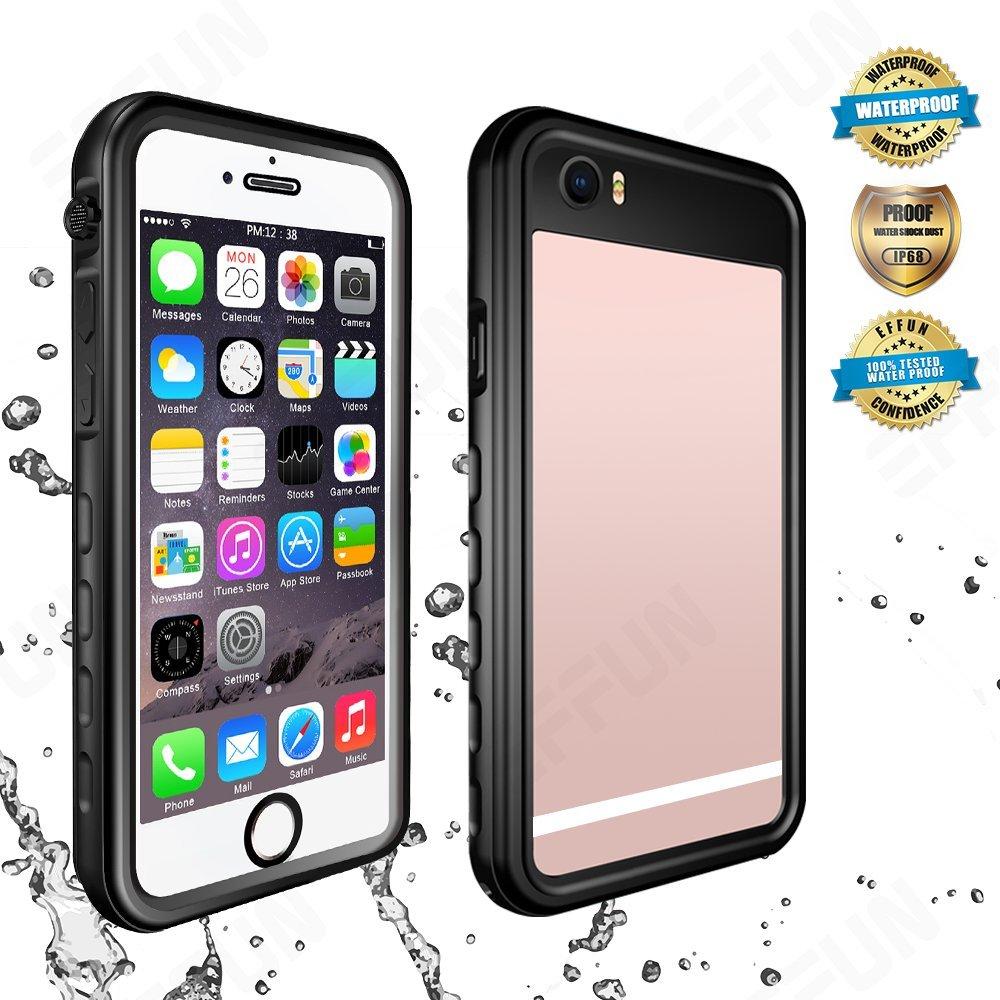 premium selection 55e53 514f1 EFFUN iPhone 6S Plus/6 Plus Waterproof Case, IP68 Certified ...