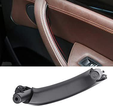 Amazon Com For Bmw X3 X4 Door Pull Handle Jaronx Right Side Passenger Door Panel Pull Handle Inner Door Handle Replacement Fit Bmw X3 F25 2010 2016 Bmw X4 F26 2014 2017 Leather Outer Cover Not Included Black Automotive