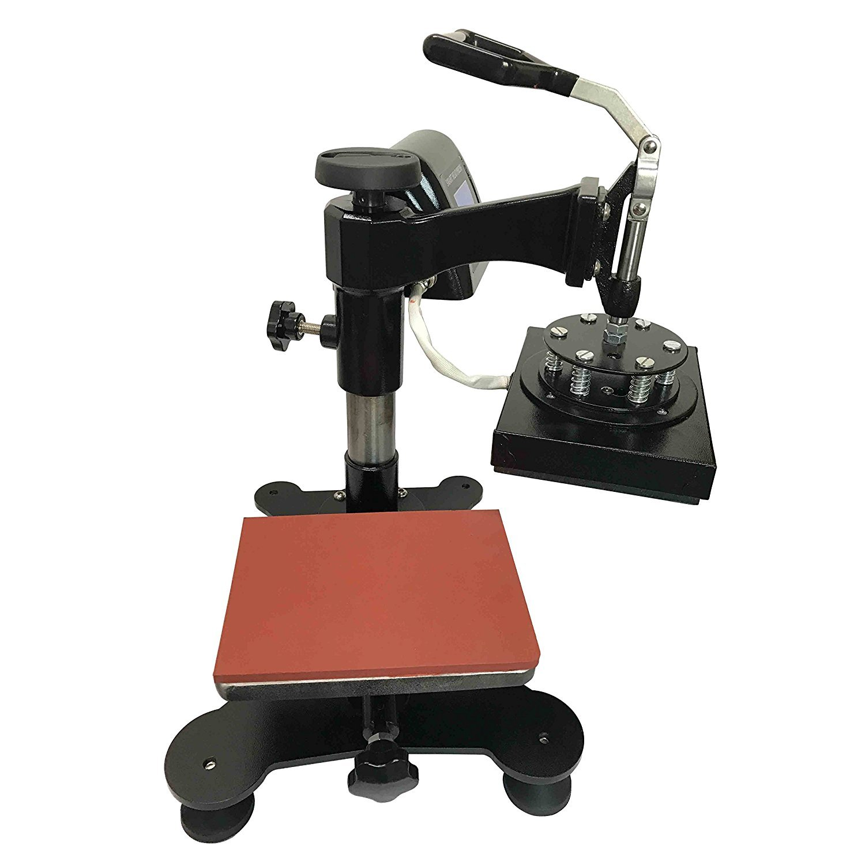 SigntigerGentle Swing Logo Heat Press Machine Manual Heat Transfer Press Logo Mark Printing Machine 110V (5.9'' 7.87'') by SigntigerGentle