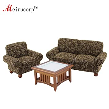 Excellent 1 12 Scale Dollhouse Miniature Living Room Furniture 3 Pcs Home Interior And Landscaping Oversignezvosmurscom