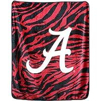 "Amazon Price History for:College Covers Alabama Crimson Tide Raschel Throw Blanket, 50"" x 60"""