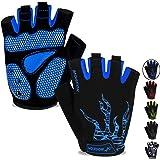 MOREOK Mens Cycling Gloves