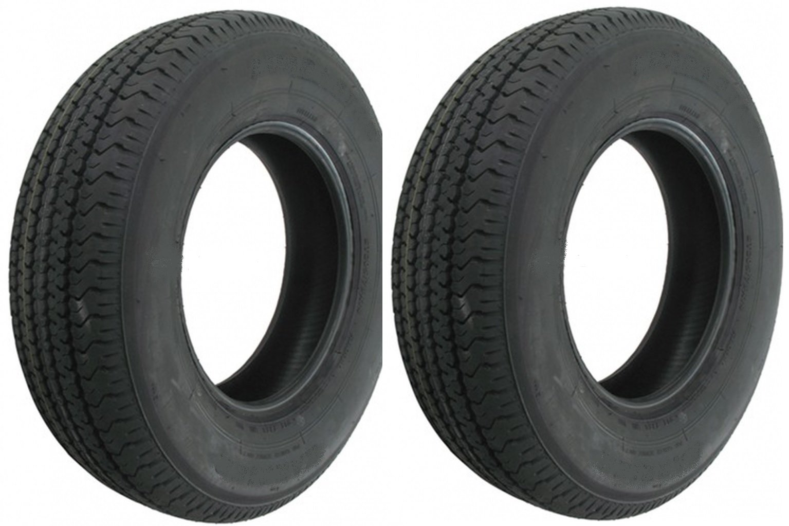 Two Trailer Tires ST185/80D13 185/80D-13 13'' ST 185 80 D 13 Boat Camper RV Spare
