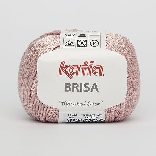 Katia Brisa algodón Hilo de Brillo de Rosenquarz (48): Amazon.es ...