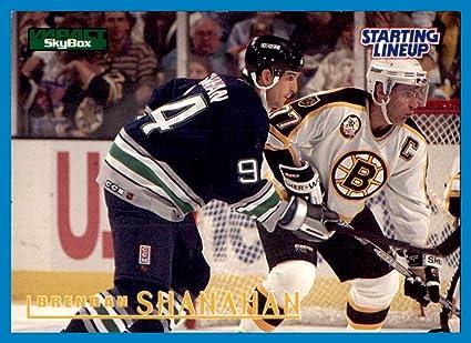 d3f59e856 1996 Kenner Starting Lineup Cards  23 Brendan Shanahan HARTFORD ...