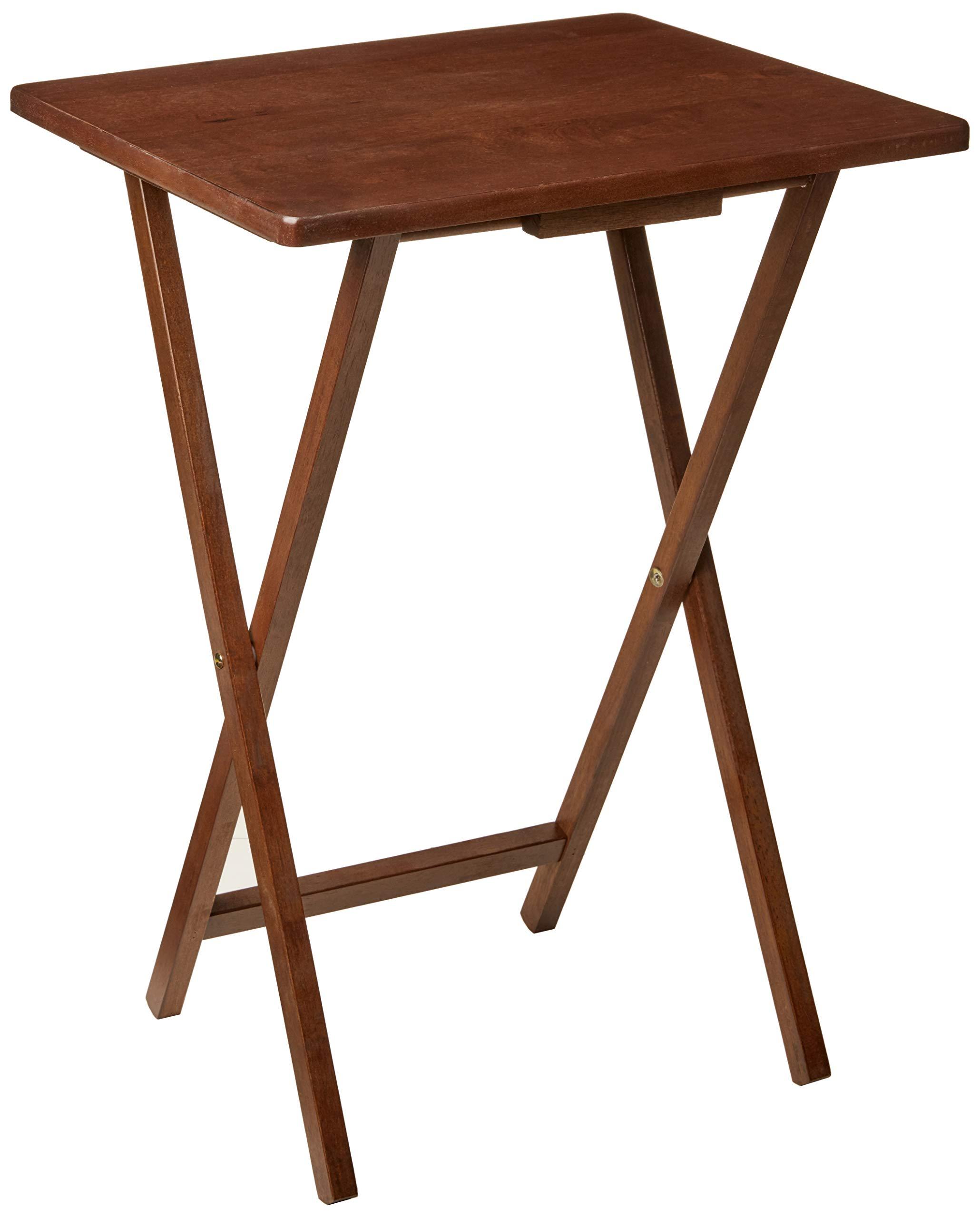 PJ WOOD TV Tray Table in Dark Mango by PJ Wood