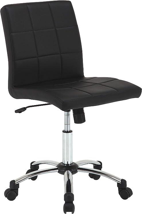 Amazon Brand - Movian Tisza - Silla de escritorio, 57 x 60 x 95 cm, negro: Amazon.es: Juguetes y juegos