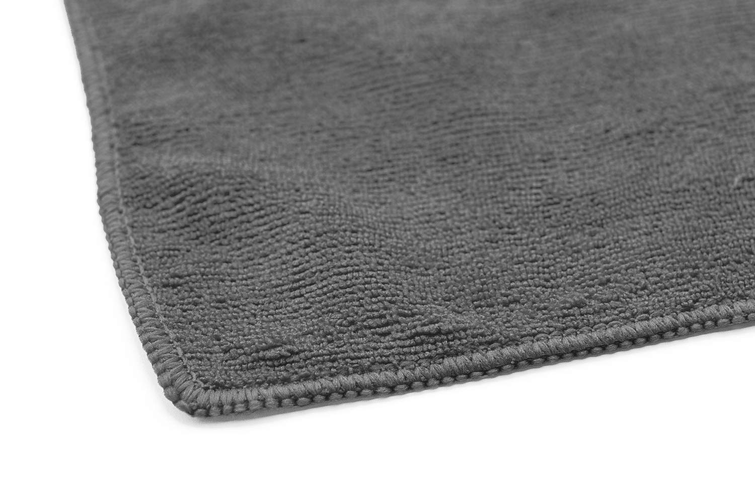 (12-Pack) 16 in. x 16 in. Commercial Grade All-Purpose Microfiber HIGHLY ABSORBENT, LINT-FREE, STREAK-FREE Cleaning Towels - THE RAG COMPANY (Grey) by THE RAG COMPANY (Image #5)