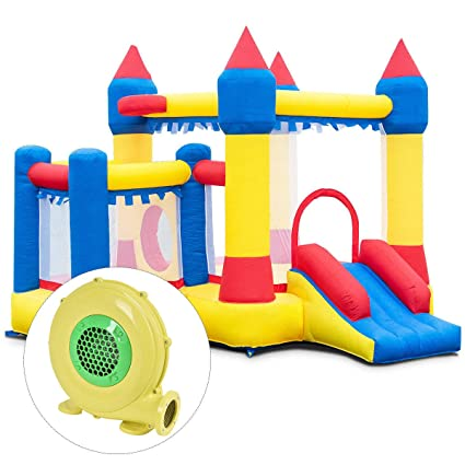 Amazon.com: VeenShop 18,0 Lbs inflable Bounce Casa Castillo ...