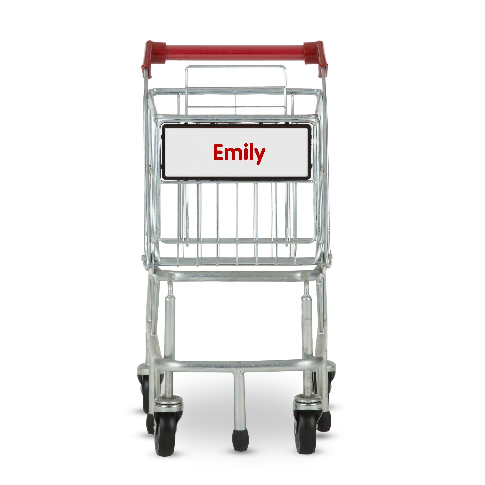 Melissa & Doug Personalized Toy Shopping Cart with Sturdy Metal Frame by Melissa & Doug