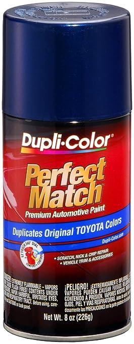 Amazon.com: Dupli-Color (BTY1623-6 PK) Dark Blue Pearl Toyota ...
