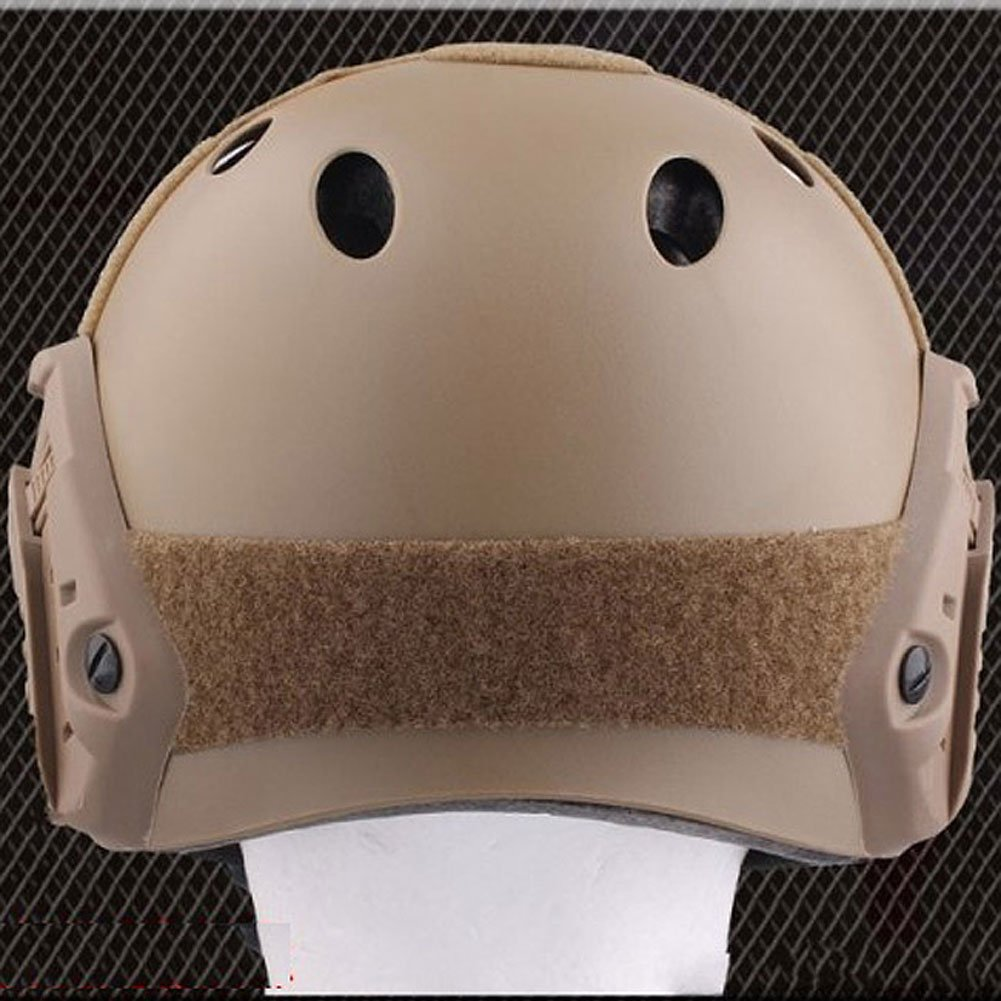 Casco in stile militare per Airsoft e Paintball con occhialini